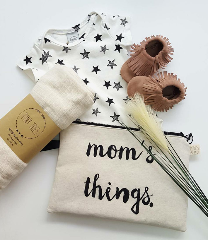Handmade products for babies and mamas